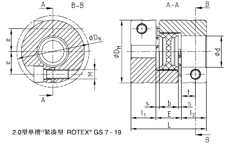 KTR ROTEX-GS紧凑型联轴器
