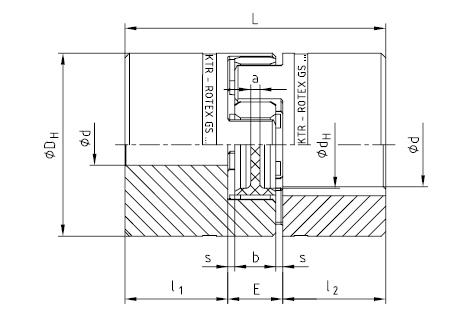 KTR ROTEX-GS 微型无齿隙弹性联轴器