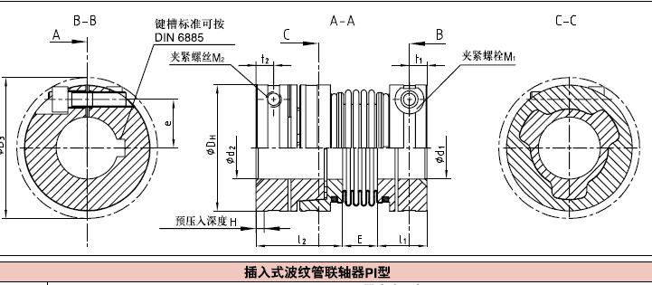 (KTR TOOLFLEX KN型波纹管联轴器,TOOLFLEX 波纹管联轴器,TOOLFLEX KN型联轴器)